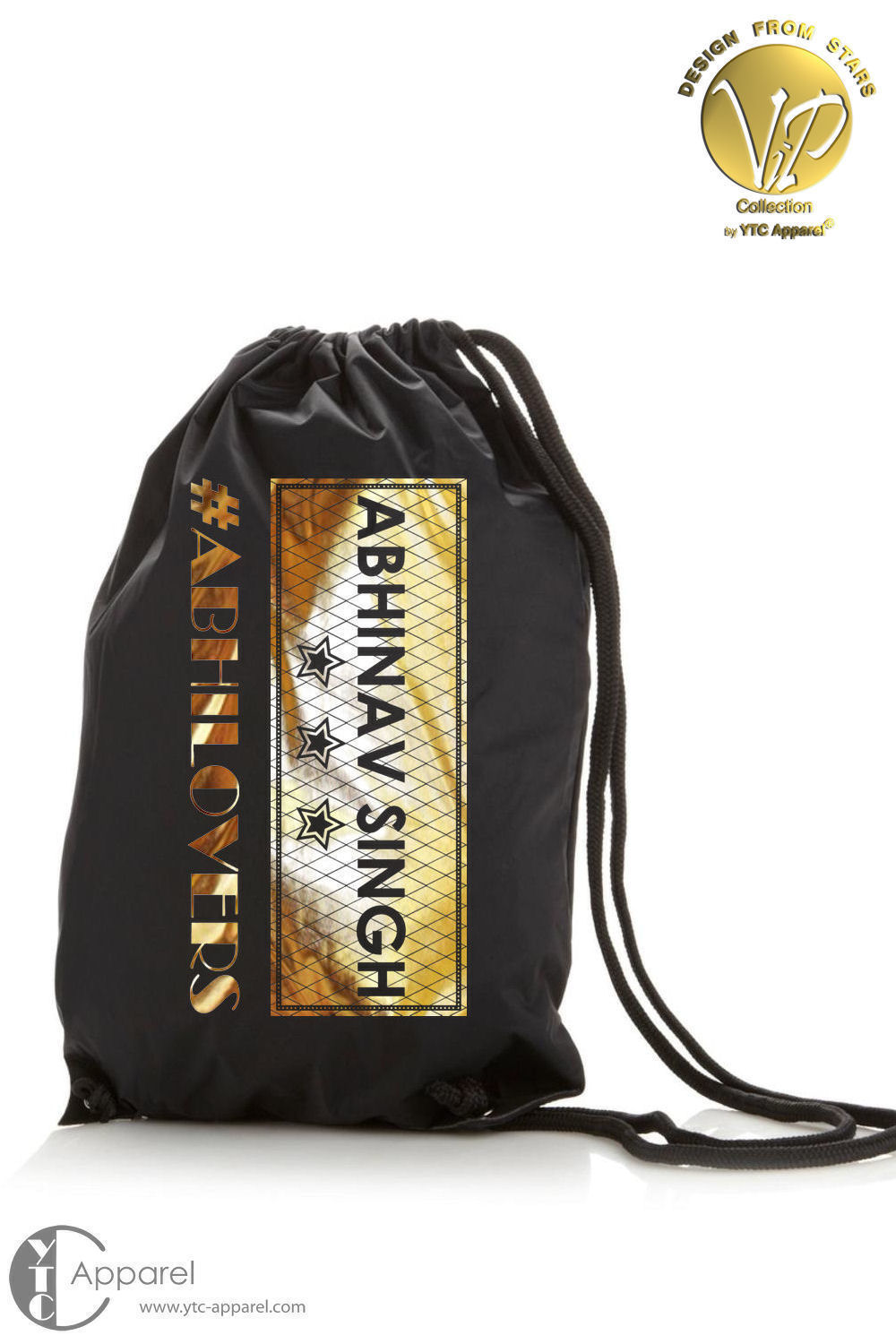 Abhinav Singh Gym Bag black (11 Liter)