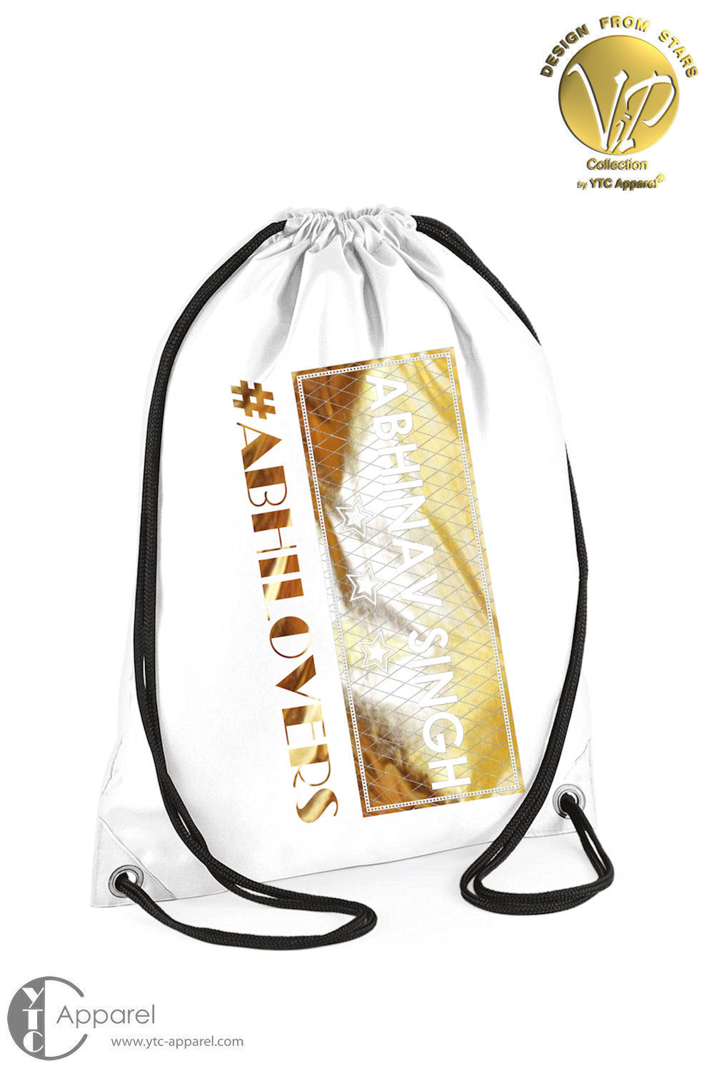 Abhinav Singh Gym Bag White (11 Liter)